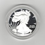 USA: American Eagle One Ounce Silver Proof Coin 2018